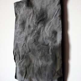 Untitled (Bond), 2011, cement.