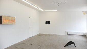 Pieces, installation view