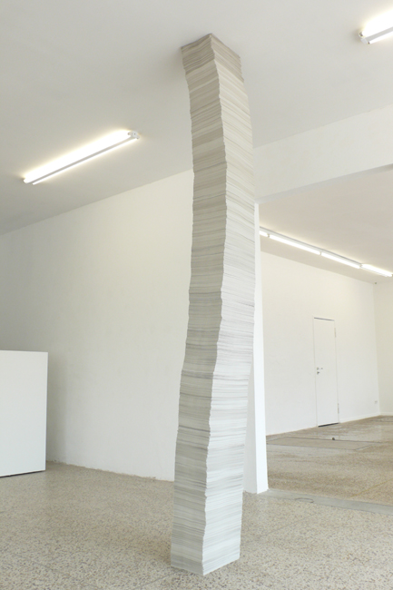 Untitled (Paperwork), 2010